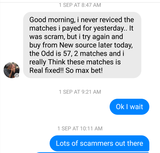 fixed matches convo 11