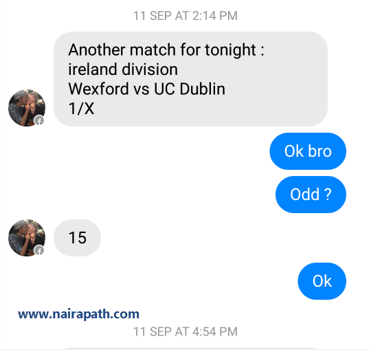 fixed matches convo 15