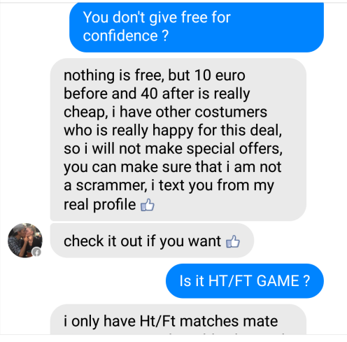 fixed matches convo 2